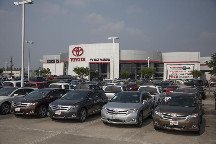 Fred Haas Toyota/Scion World tops HBJ's 2013 Houston-Area Auto Dealers by Franchise List.  Click through the slideshow to see other dealers on the list, ranked by retail vehicles sold in 2012.