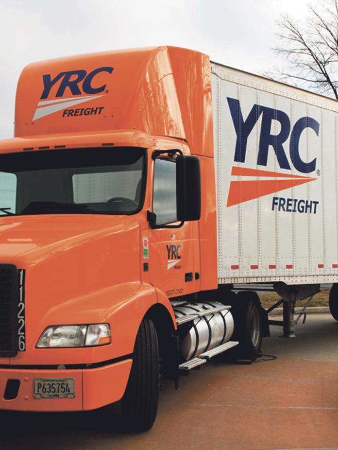 YRC Worldwide Inc. needs to hire hundreds of drivers by year's end just to keep up with demand.