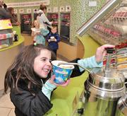 Reese Courtney at Menchie's Frozen Yogurt in Clifton Park, NY.