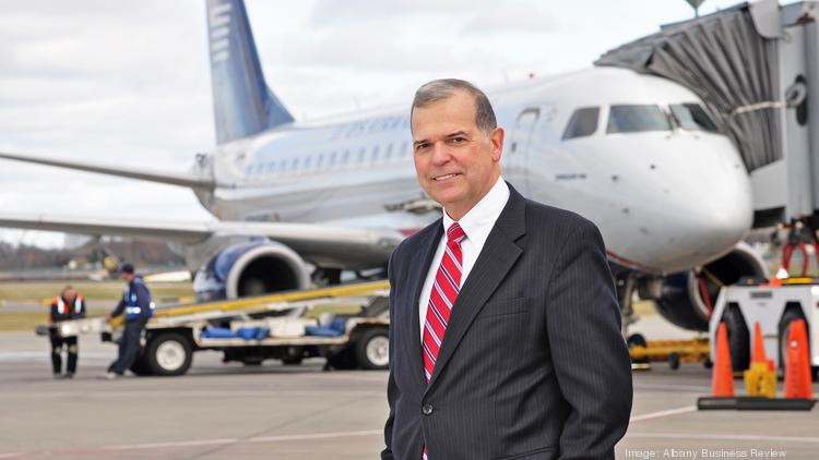 Airport CEO John O'Donnell said the airport will need to build a new parking garage to accommodate 500 to 600 vehicles following JetBlue Airways' decision to begin flying out of Albany, NY.