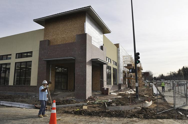 Trader Joe's opens its store at East Eighth Avenue and Colorado Boulevard  in Denver on Feb. 14.