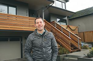 George Hale, founder of the infill residential real estate developer H. Hudson Homes, has found a niche building sleek homes that enhance existing neighborhoods.