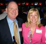 Vince McCormick, Perdue and Traci Jenks, CBRE.