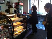 Danish and muffins are the most popular items so far at Zachary's Pastry Shoppe in downtown Albany.