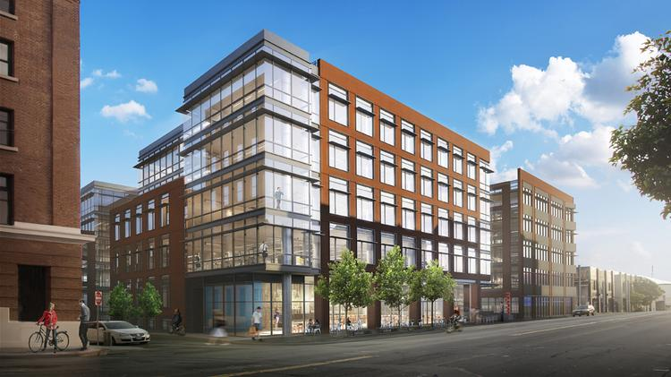 Dropbox pre-leased all of the 182,000 square feet under construction at 333 Brannan.