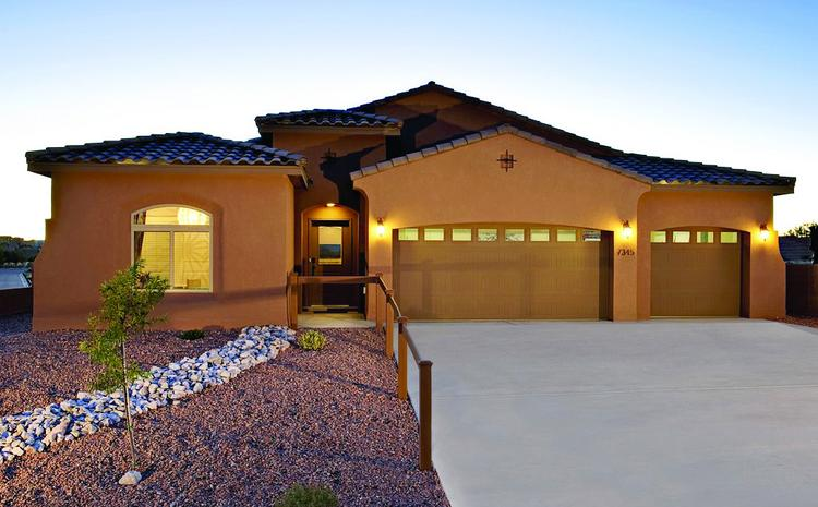 Abrazo Homes and Twilight Homes have purchased almost 100 lots each in the Rancho Valencia subdivision in Los Lunas. The home pictured is one that Abrazo will be offering there.