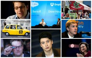 Some of the upstarts who made news in the first quarter of 2013. Click on the gallery link to find out who is who.