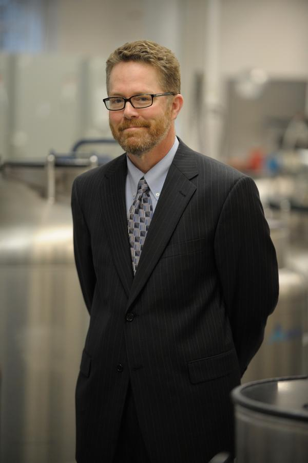 Coriell President and CEO Michael Christman