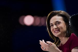 Sheryl Sandberg, chief operating officer of Facebook Inc., speaks during the DreamForce Conference in San Francisco, California, U.S., on Wednesday, Nov. 20, 2013. She joins this year's Forbes billionaires list as one of its youngest self-made women.