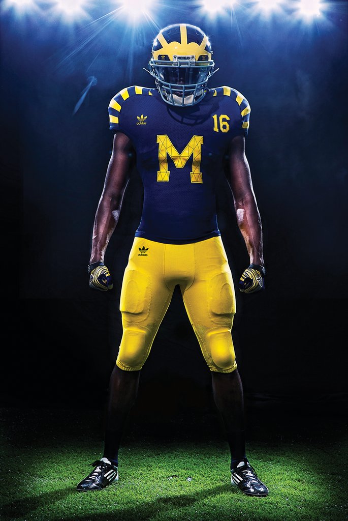 The University of Michigan's athletic contract with Adidas stipulates that if the brand offers a more lucrative offer to a different school, it must offer Michigan that same deal.
