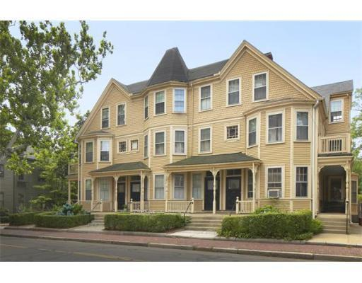 This multifamily home at 382-392 Harvard St. and 15 Remington St. in Cambridge set off a bidding war.