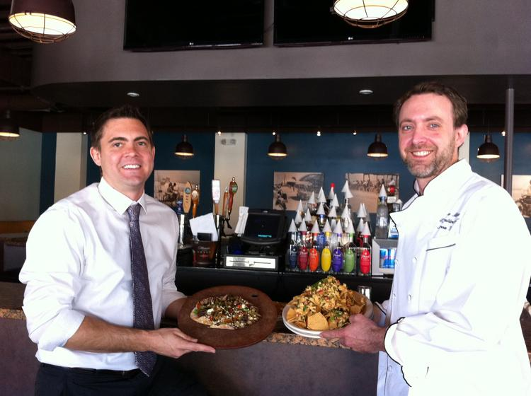 Zeta partners Mark Vandeloo (left) and Aaron Wedd have worked together at the Casa Marina Hotel in Jacksonville Beach for over a decade.Click through the slideshow to see more of the restaurant.