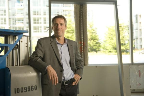Chris Haskell leads Bayer's U.S. Science Hub in San Francisco's Mission Bay, where Bayer also has opened an incubator for life sciences companies.