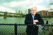 Former Pittsburgh Mayor Tom Murphy poses for a photograph along the banks of the Monongahela River on April 18, 2013. He was profiled in May 2013 by reporter Tim Schooley. Read the story  here.