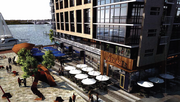 The apartment building featured in phase one of Riverfront on the Anacostia will include 18,000 square feet of retail.