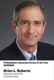 Brian Roberts is the chairman and CEO of Comast Corp., which continued its dominance in cable TV and internet.