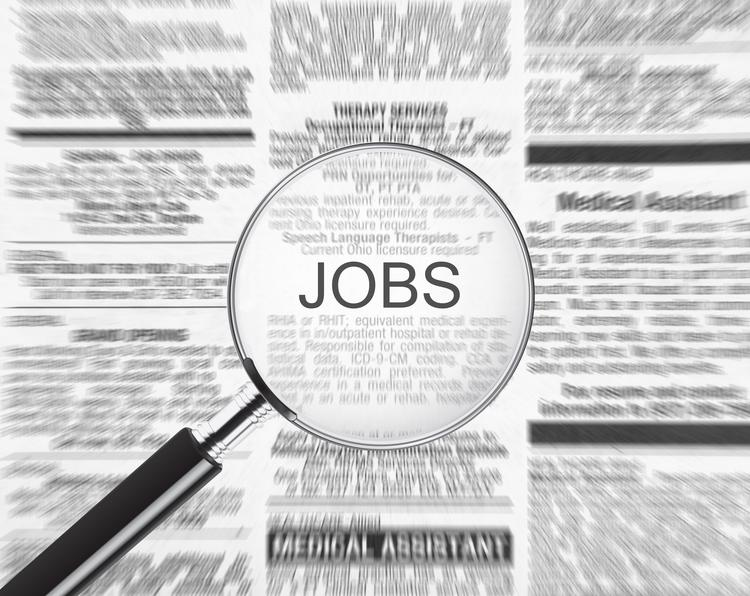 An Oregon Employment Department survey found there were four unemployed citizens for every job opening in fall 2013.