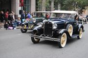 The old-timey classic cars were cool.