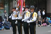 Central Florida's law enforcement officers had their moment in the parade spotlight  to showcase their skills.