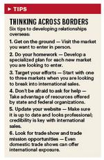 Finding the right resources to get started overseas