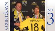 Acquirer: Precourt Sports Ventures, San Francisco Target: Columbus Crew from Hunt Sports Group Value: $68 million