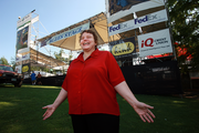 A joyful Susannah Morgan, the new director of the Oregon Food Bank, gets ready for the agency's big fundraiser, the Oregon Blues Festival.