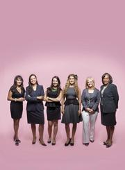 This photo illustration shows the six winners of our 2013 Profiles in Power-Women of Influence award