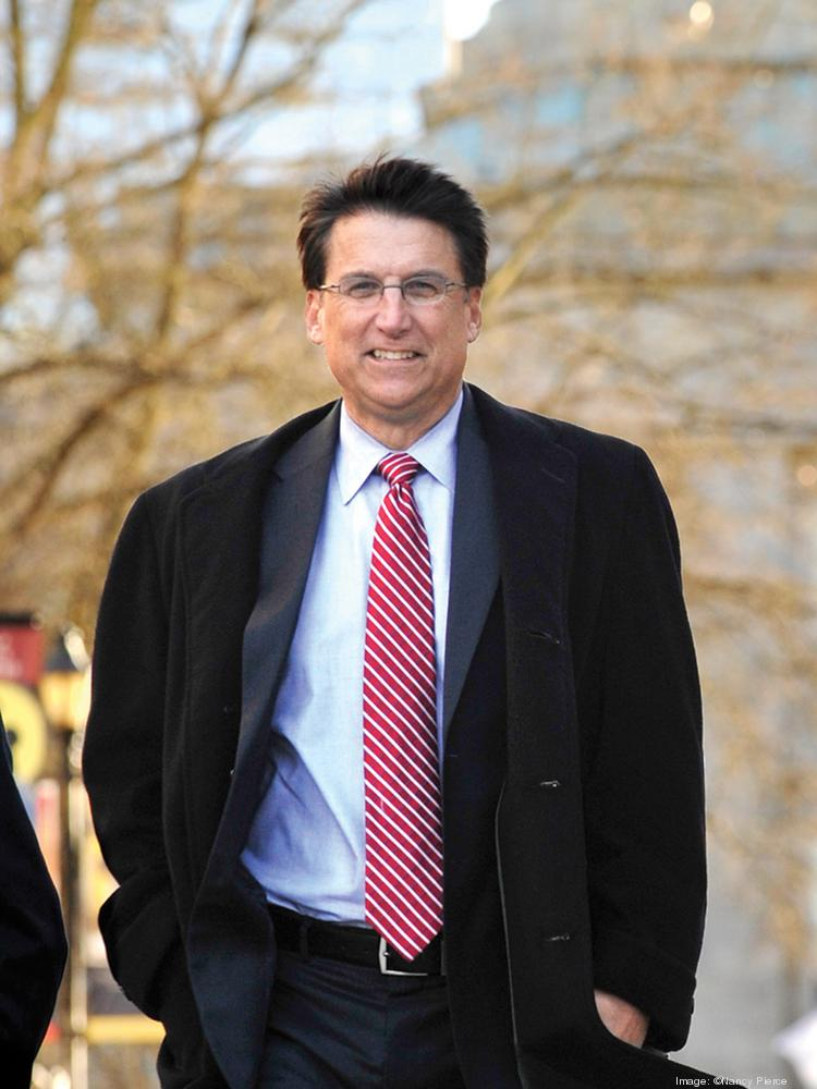 Gov. Pat McCrory spoke at the N.C. Bankers Association's 12th annual Economic Outlook Forum on Monday.
