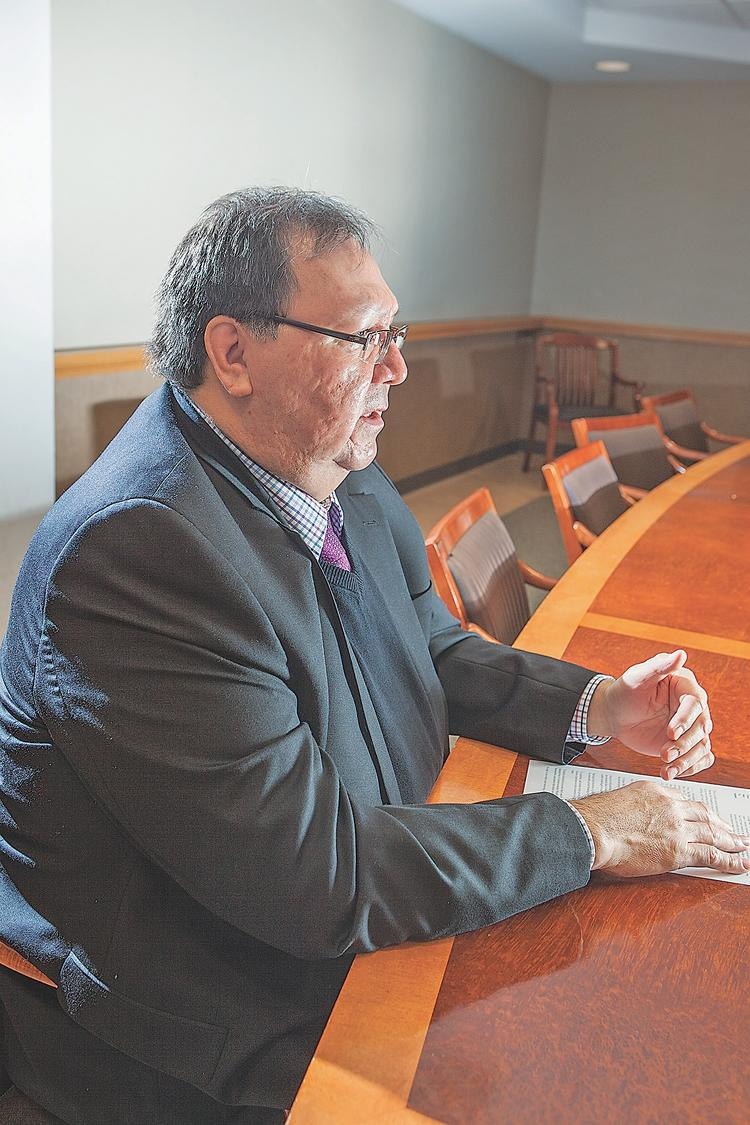Ross John Sr. wants to use the Seneca Nation's sovereign status to spur local development projects. He chairs the Seneca Commission for Economic Development.