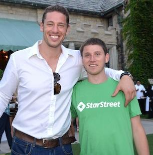 From left, Jordan Fliegel, CEO of CoachUp, and Jeremy Levine, CEO of StarStreet, launched Bridge Boys, an investment fund to support early-stage startups, in summer 2012.
