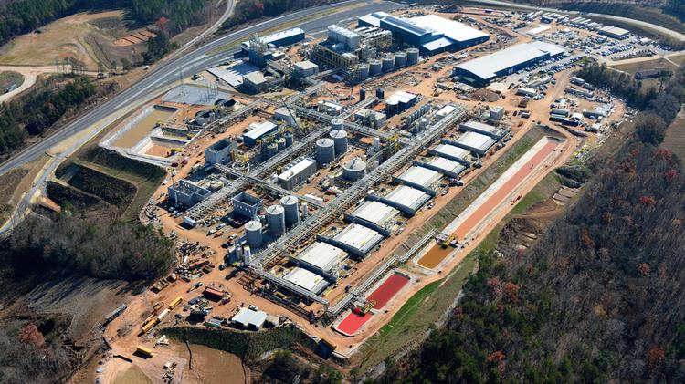 The new Horsehead plant, located in Mooresboro, adjacent to the Cleveland County line, is expected to begin production by mid-2014.
