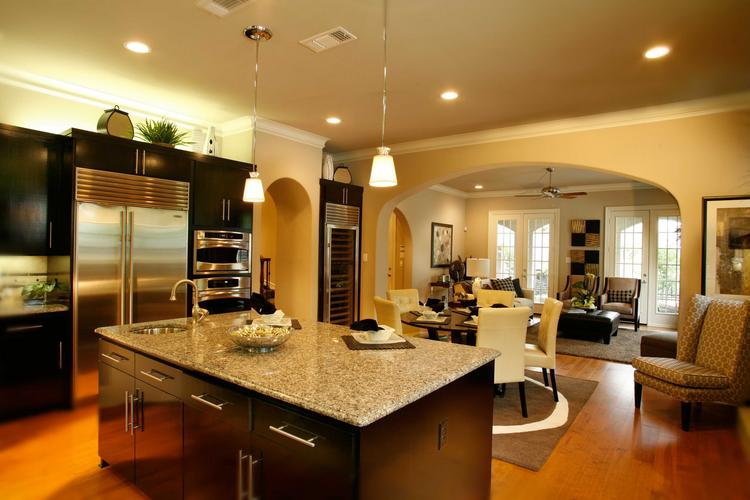 The Tucker Hill residential community has a range of home sizes from 2,100 square feet to 4,200 square feet of living space.