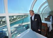 Waterstone Resort & Marina GM Greg Kaylor looks out at the Intracoastal Waterway in Boca Raton. The resort was formerly known as the Boca Raton Bridge Hotel before its renovations.