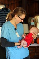 Duke study: Nurse home visits for newborn care could save millions