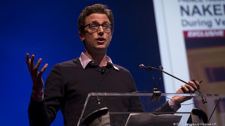 Buzzfeed Inc. founder and CEO Jonah Peretti, seen here during a speech in 2013, says his site has abandoned prior innovations when people don't respond well, even if analytics say it's working.