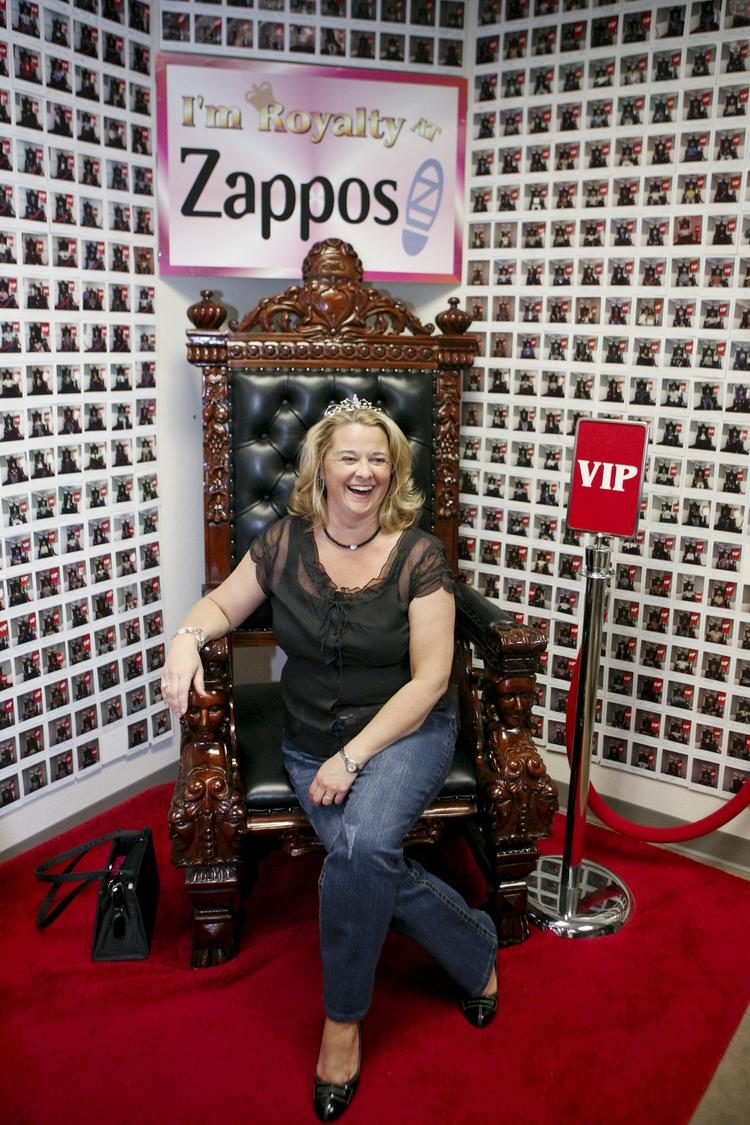 Zappos tries to treat employees like royalty.