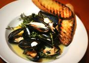 Mussels at Carpe Vino.