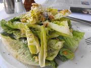 Caesar salad at Waterboy.