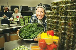 As a competitive runner, Sarah Pool was eating a mostly plant-based diet when she came to the realization that she could probably make kale chips that taste better than what was on the market. A year later, Pacific Northwest Kale Chips are available in more than 250 stores.