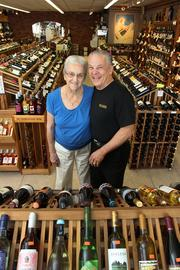 At Pasadena Liquors and Fine Wines, Josephine, 89, and son, Jim Valenty. Jim and his brother, Bob, are co-owners and their mom, Josephine, works in the store every day putting in nine to 12 hours a day. I left that shoot feeling like I was an honorary part of Jim's family. Our connection was so strong in such a short period of time. I hated to go as we hugged goodbye. He and his mom will remain a bright light in my career.