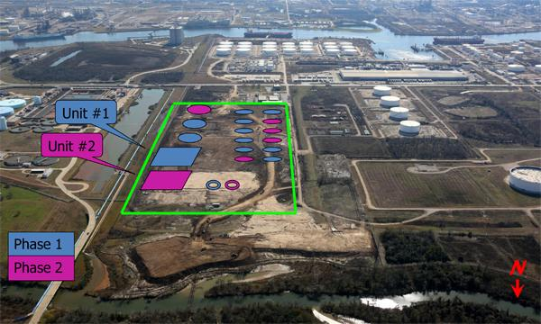 Kinder Morgan Energy Partners will spend $170 million to build a second condensate processing facility and storage capacity near its Galena Park terminal on the Houston Ship Channel. The first unit should be in service in Q1 of 2014 and the second in Q2 of 2015.