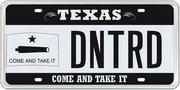 The Come and Take It Flag specialty plate was the seventh best seller in 2013 with 1,035 buyers.