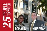 St. Petersburg Mayor, St. Petersburg Deputy Mayor: One of the first actions Rick Kriseman took after winning the St. Petersburg mayoral election was to name Kanika Tomalin as deputy mayor, a post in which she will work on strategic initiatives for the city.
