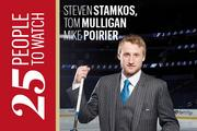 Tampa Bay Lightning: Two of the three men working to get Steven Stamkos back on the ice to help the team make a chase for the Stanley Cup this year are Lightning athletic trainers Tom Mulligan and Mike Poirier. Gentlemen, we are watching.