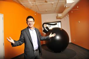 Kevin Chou, co-founder and CEO of Kabam.
