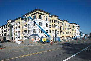 Portland is adding demand for apartments in 2014.