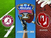 """Alabama vs. Oklahoma  Nike is the exclusive athletic supplier for each university.  Nike will pay Alabama $50,000 for playing in a BCS game. Alabama is required to provide Nike executives with 12 tickets to any bowl game in which it plays. Alabama also is required to request that """"celebration apparel"""" not bear the logo of any Nike competitor.  Nike will pay Oklahoma $25,000 for playing in a BCS game. Oklahoma is required to provide Nike executives 10 tickets to any bowl game in which it plays.  Side note: The head coaches in the game also will receive bonuses from their respective universities.  Alabama will pay head coach Nick Saban $125,000 for the team's appearance in a BCS game. Oklahoma will pay head coach Bob Stoops $110,000 for the team's appearance in a BCS game."""