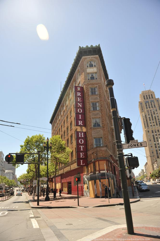 Kor Group's Renoir Hotel in San Francisco's Tenderloin will be converted into a luxury boutique property.