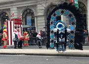 The Mummers parade on Broad Street.