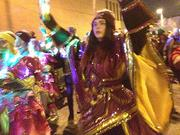 Mummers dancing on 2nd Street.